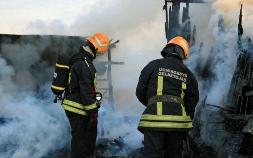 В Каунасском районе сгорел костел, подозревается поджог