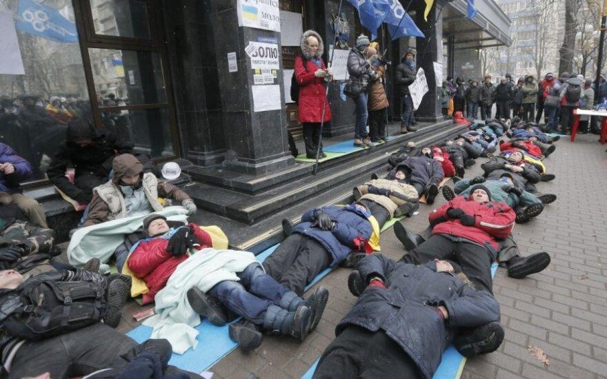 Protestai Ukrainoje, gruodžio 6 d.
