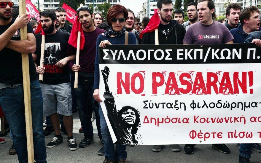 Двухдневная забастовка в Греции парализовала жизнь страны