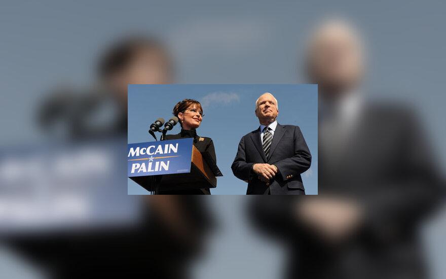 S.Palin ir J.McCainas