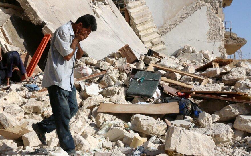 Россия обвиняет сирийских повстанцев в химической атаке в Алеппо