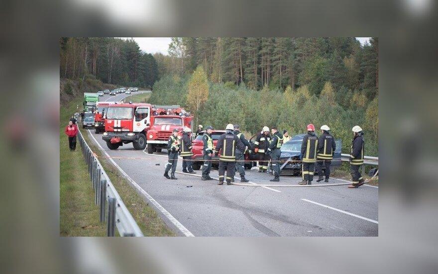 ДТП на дороге Варена-Друскининкай: пострадали 7 человек, виновник пьян