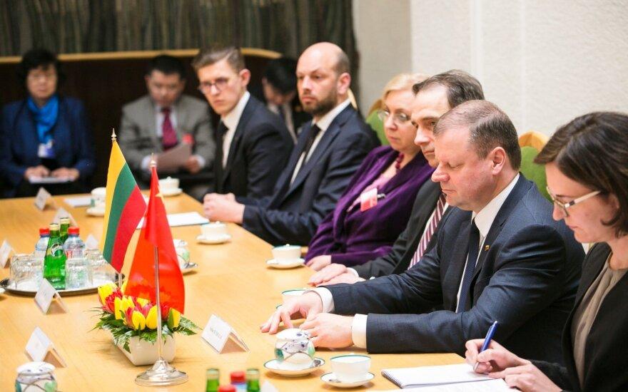 Премьер-министр Литвы: пока нет оснований беспокоиться по поводу китайских инвестиций
