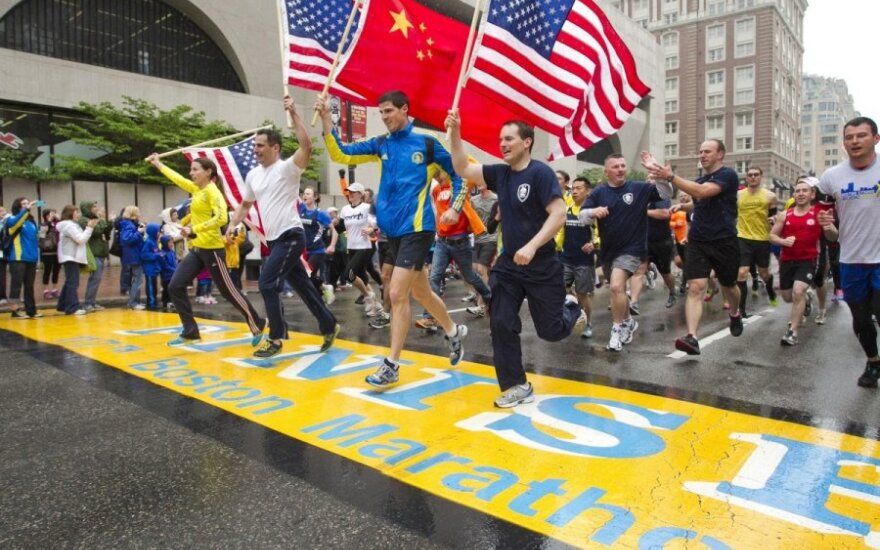 На Бостонский марафон запретили проносить сумки