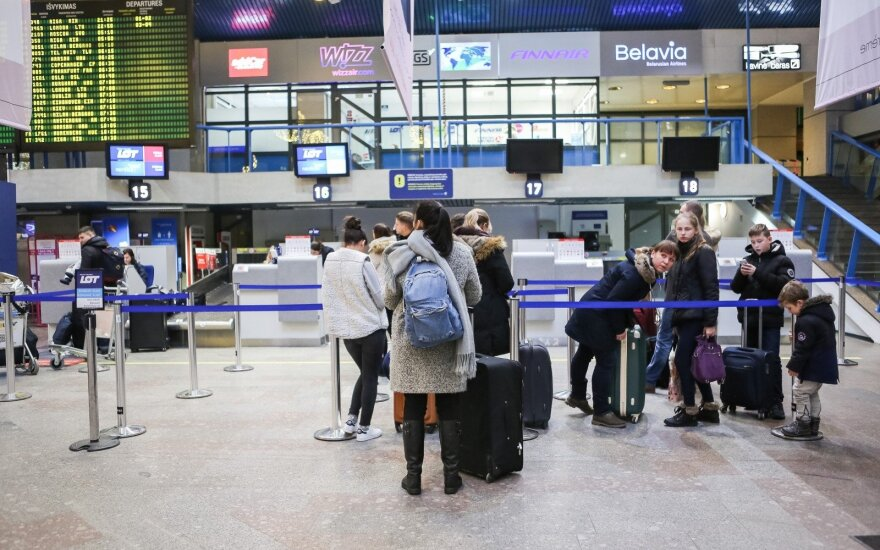 Растущие цены могут скорректировать планы Ryanair в Вильнюсе