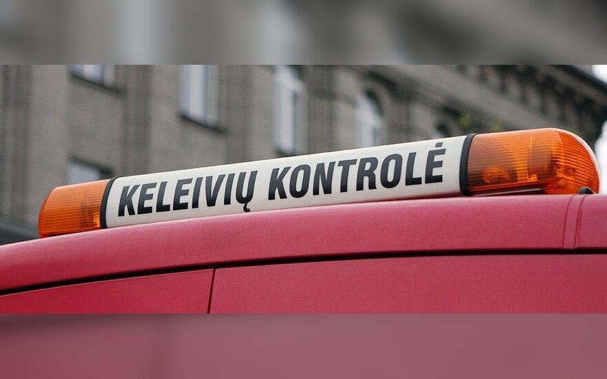 """В вильнюсском общественном транспорте в прошлом году задержали на 27% больше """"зайцев"""""""