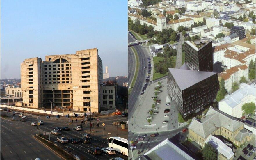 Вместо здания-привидения Vičiūnai построит в Каунасе новый комплекс