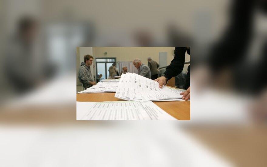 Išankstinis balsavimas Vilniaus savivaldybėje