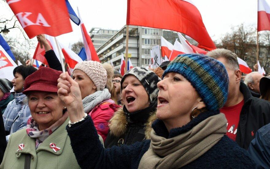 Литовские политики: события в Польше вызывают беспокойство