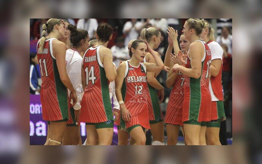 Baltarusijos rinktinės krepšininkės