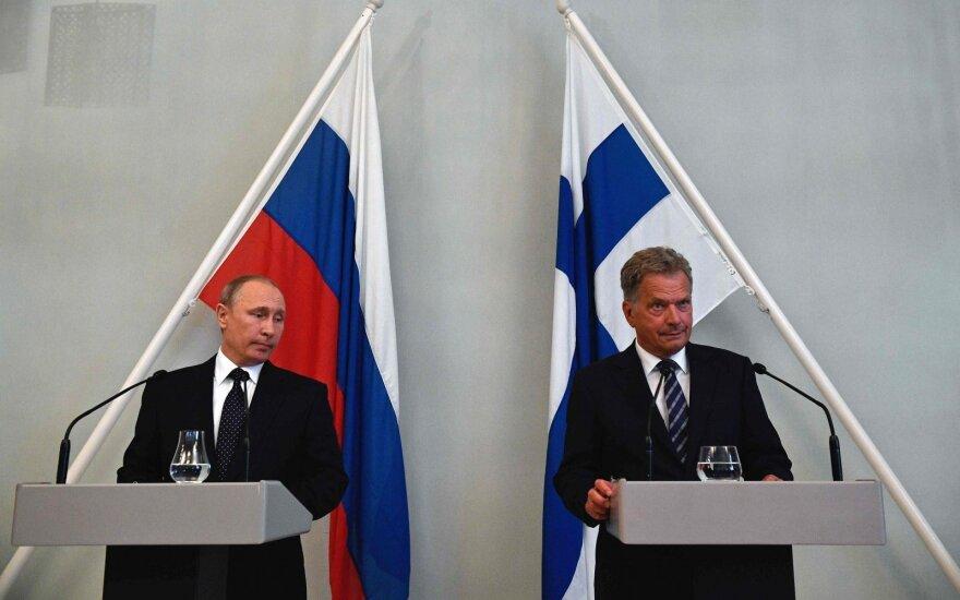 Путин поспорил с президентом Финляндии о санкциях
