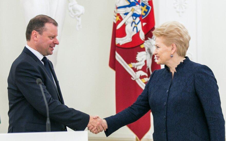 Президент Литвы: с новым большинством пока находим общий язык