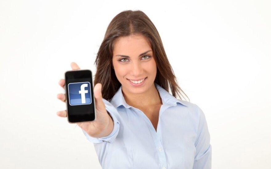 """Facebook"" išmanusis telefonas"