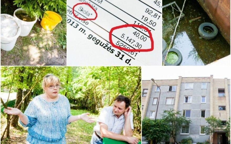 Жители дома на окраине Вильнюса: с советскими военными уехали все наши удобства