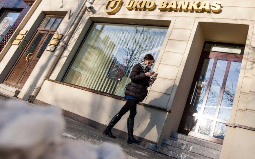 Руководители Ūkio bankas: с отмыванием денег не имеем ничего общего