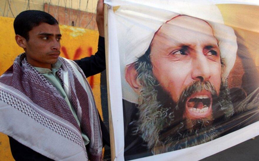 Šiitų dvasininkas Nimras al-Nimras