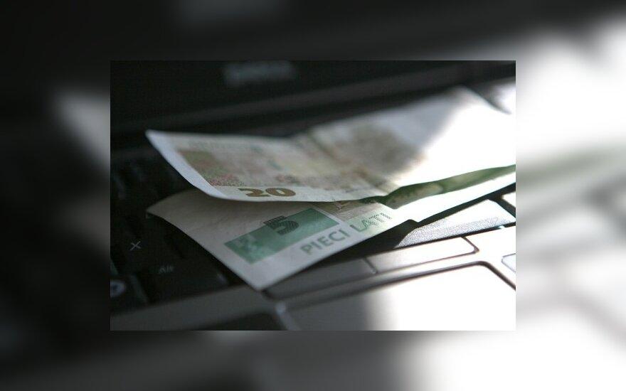 В Латвии стало меньше фальшивых латов
