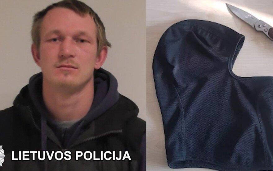 Задержан подозреваемый в ограблении пожилой жительницы Тракайского района