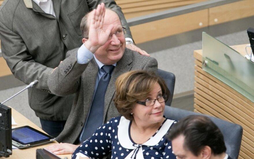 Руководство консерваторов предлагает шесть новых кандидатов в мэры Вильнюса