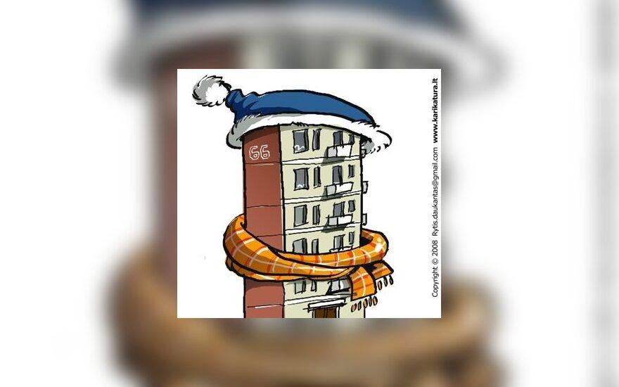 На ремонт домов – 2,3 млрд. литов