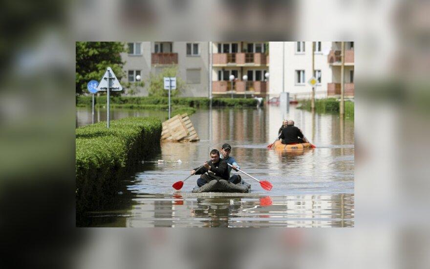 В Чехии, Польше и Германии начались наводнения