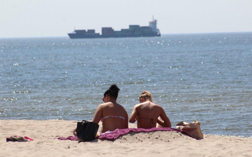 На Балтийском море есть пляж, с которого едва удалось унести ноги