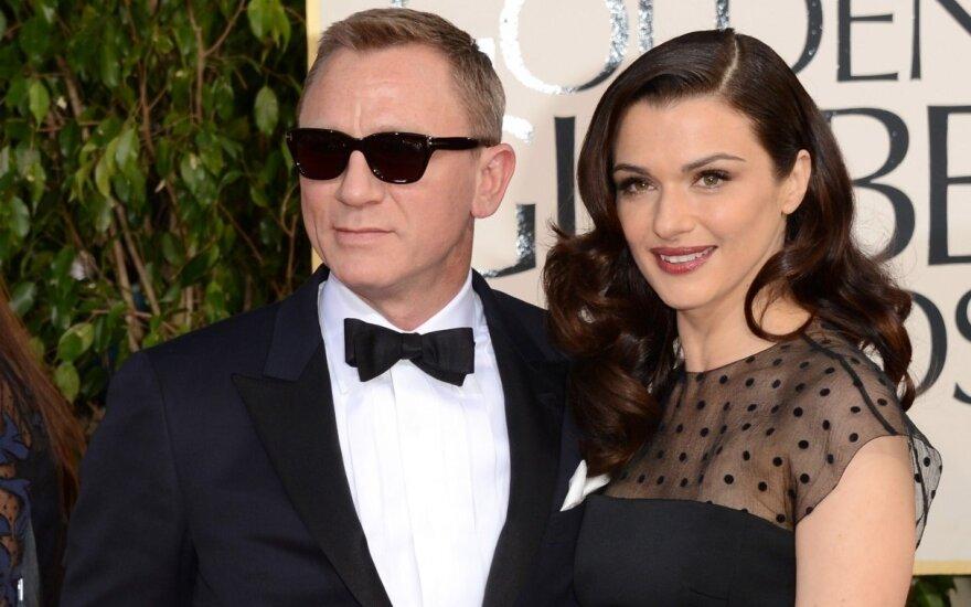 Danielis Craigas ir Rachel Weisz