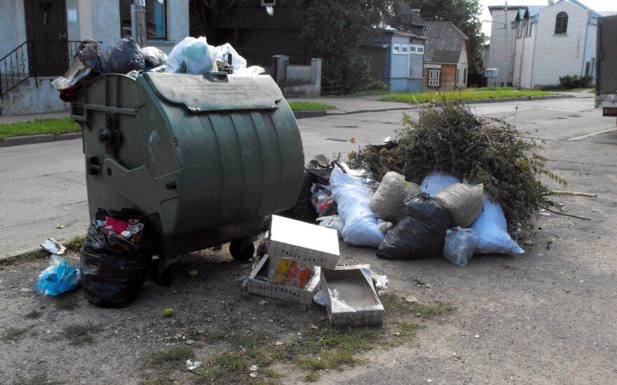 Если Сейм не увеличит налоги на свалки, Каунас обещает пересчитать налог на мусор