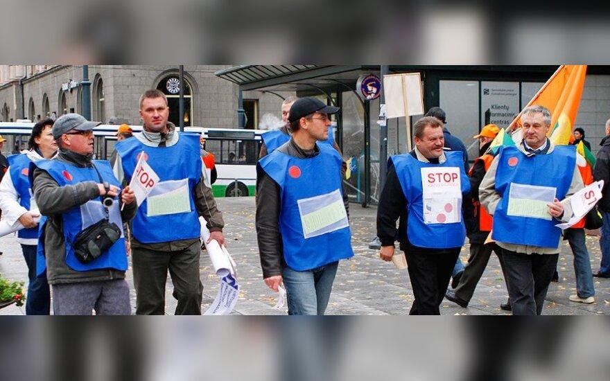 Профсоюзы передумали проводить митинг в субботу
