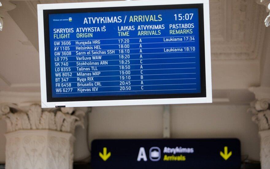 После объединения аэропортов Литвы доход компании Lietuvos oro uostai вырос на 235%