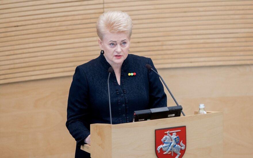 Президент Литвы обещает в субботу подписать законы о налоговой реформе
