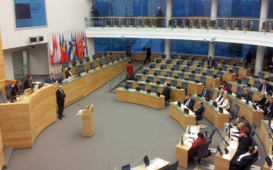 Начинается весенняя сессия парламента Литвы
