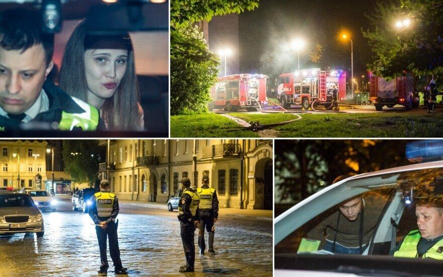 Рейд в Вильнюсе: слезы девушки и нигериец без литовских прав