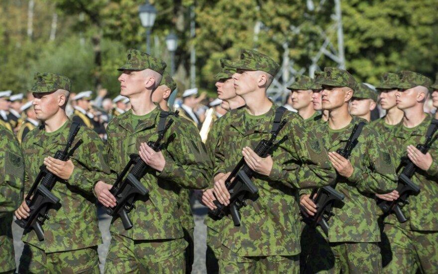 Несколько сотен литовских военных отправляются на международные учения в Германию