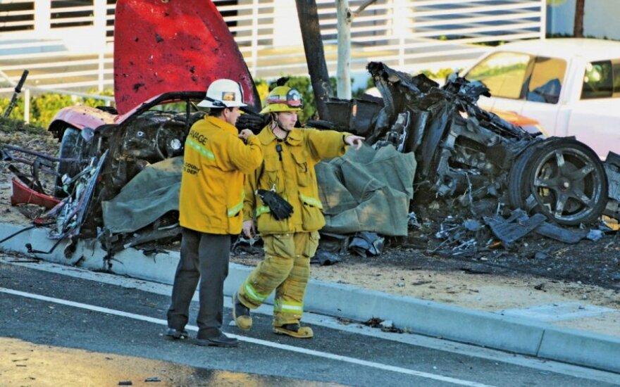 Aktor Paul Walker zginął w wypadku samochodowym