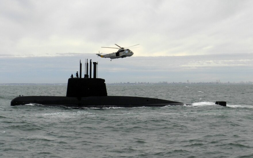"""Эксперты: раздавленная подлодка """"Сан-Хуан"""" лежит на дне, а экипаж уже погиб"""