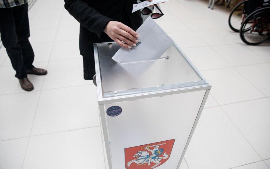 В Литве досрочно проголосовали 9,56% избирателей
