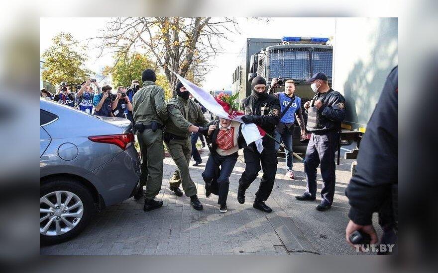 Задержание, Минск