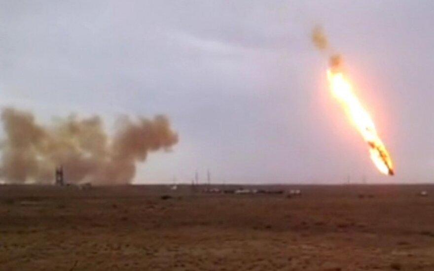 """Raketos """"Proton-M"""" nesėkmingas startas"""