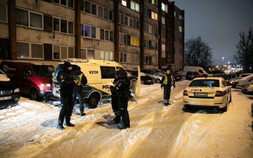 Зацепившему женщину и обругавшему ее водителю в Вильнюсе не поздоровилось
