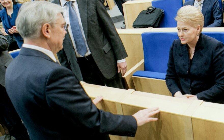 """Грибаускайте объяснила, как Бальчитис """"продал бы Литву за масло"""""""