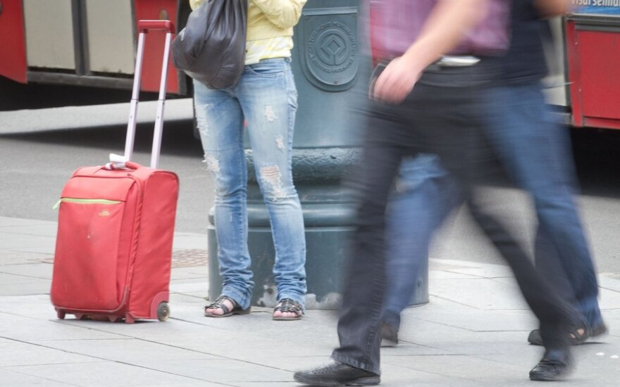Жители по-прежнему уезжают из Литвы