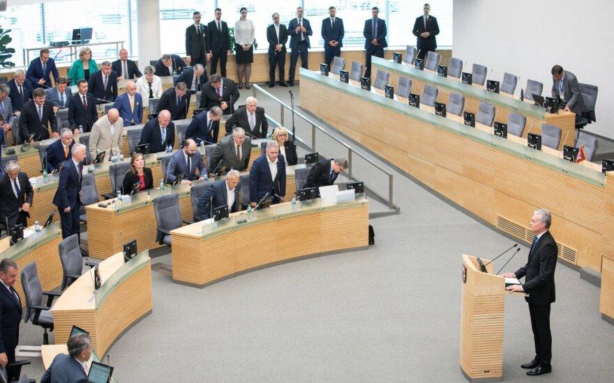 Оппозиция обсудила с президентом Литвы возможность досрочных выборов в Сейм