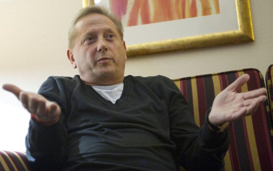 Романов после разделения банка Ūkio bankas: ограбили среди бела дня