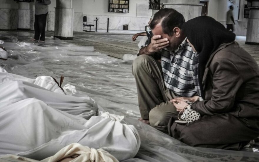 Dujų ataka Sirijoje