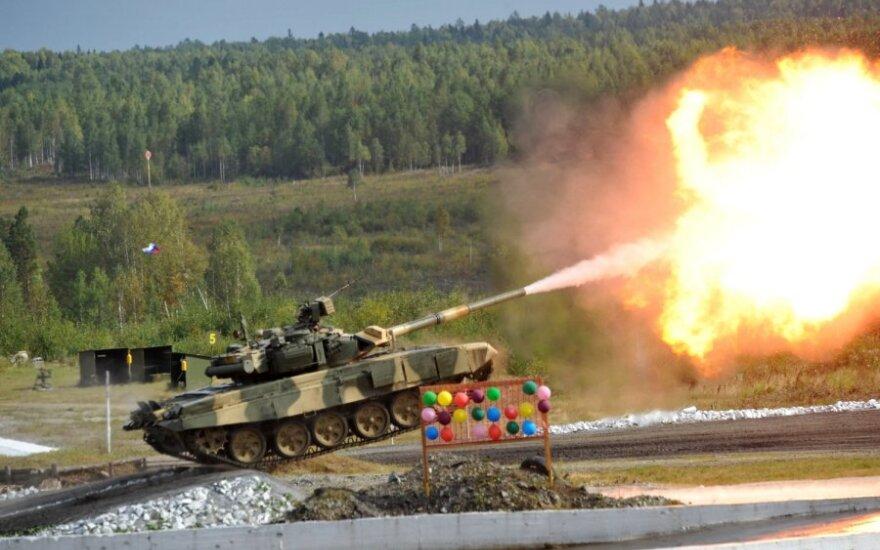 Rusiškas tankas T–90 S
