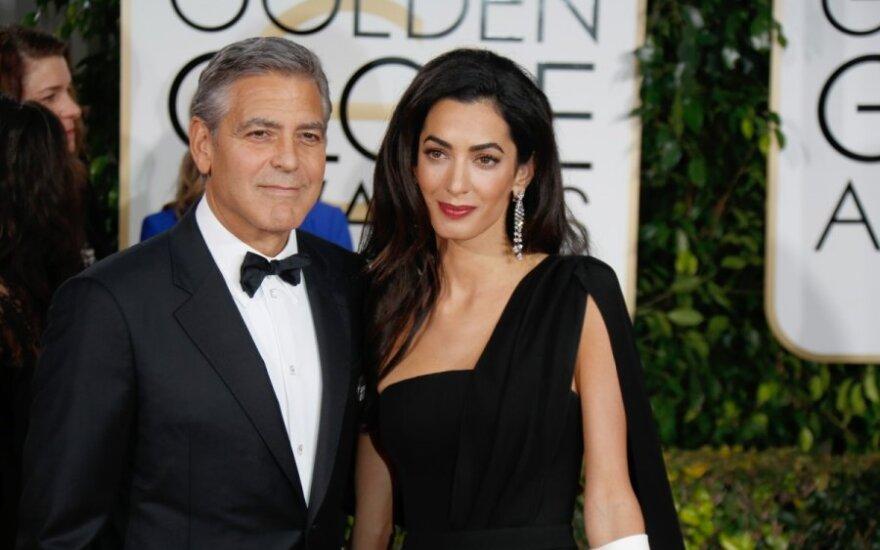 Таблоиды прочат скорый развод Джорджу Клуни и Амаль Аламуддин