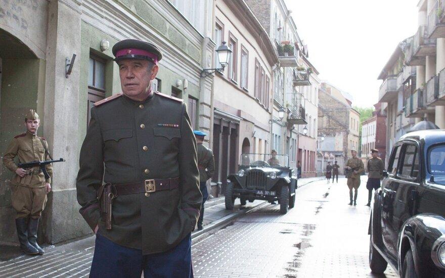 """Sergejus Garmašas, Kadras iš filmo """"Šaltasis tango"""""""