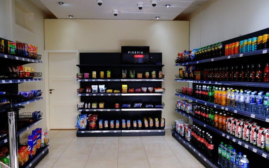 Литовцы создали первый в мире магазин без касс и кассиров