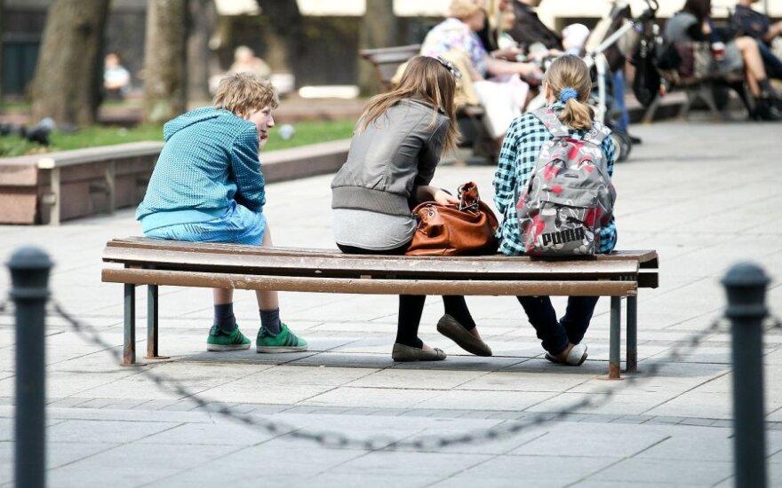 Результаты исследования социального климата в Литве остаются отрицательными